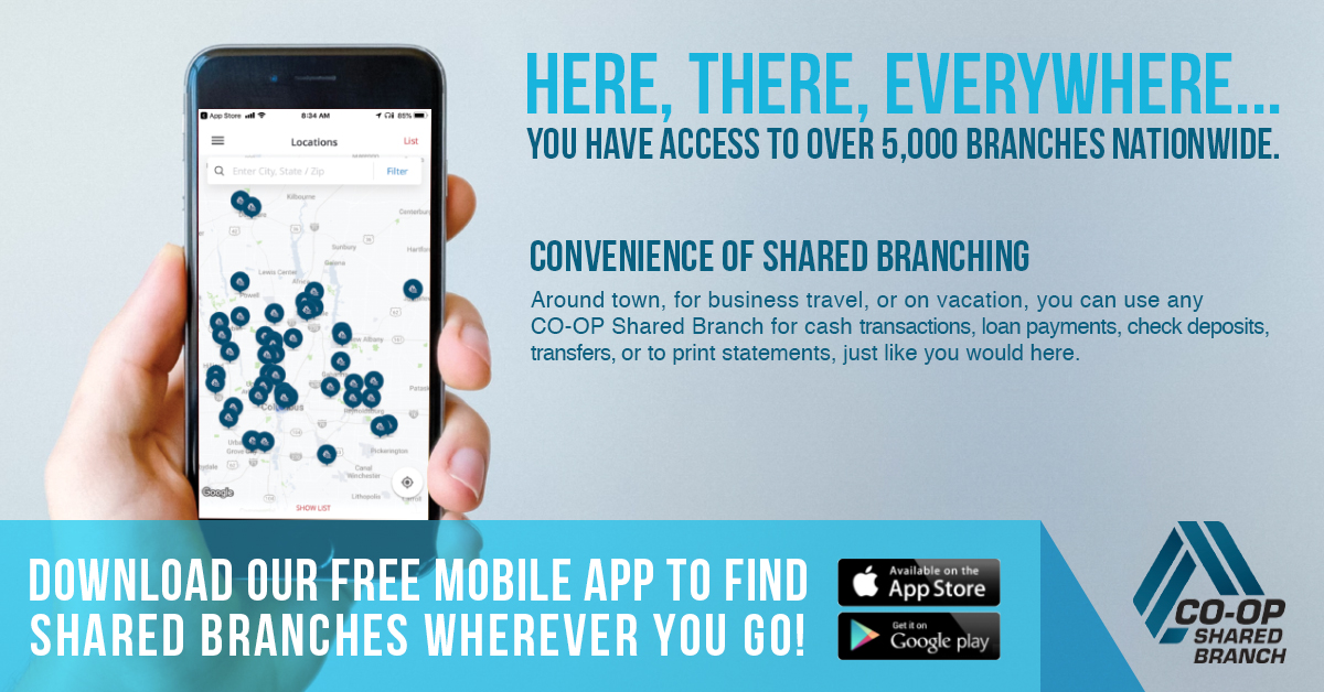Give your members the convenience of the Ohio Shared